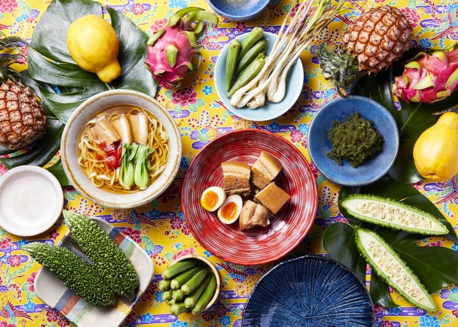 6月14日からスタートする「沖縄」テーマのブッフェ料理(イメージ)