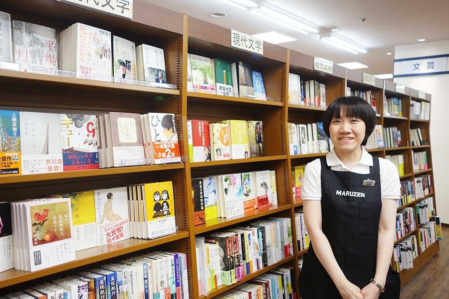 元天牛堺書店員の浅香さん、「書店員のおすすめコーナーなど、以前からリクエストがあった企画も実現していきたい」と語る
