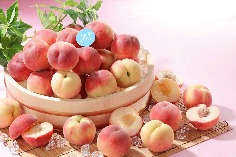 みずみずしく、繊細な桃を好きなだけいただける食べ放題企画