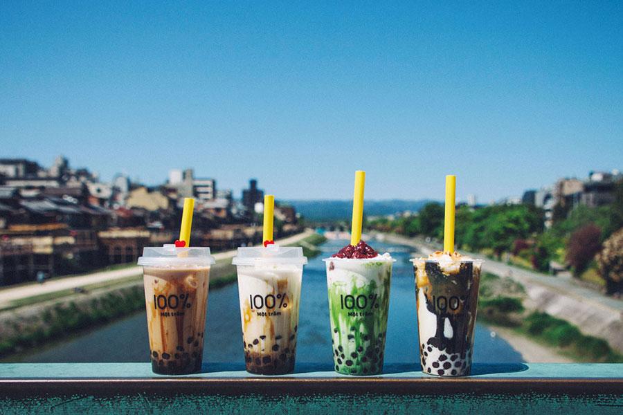 「生タピオカ専門店 モッチャム」の京都・河原町三条店が6月8日オープン。
