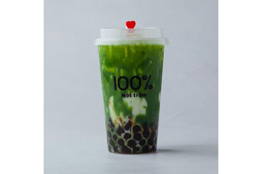 「宇治抹茶ミルク」(Mサイズ・580円)