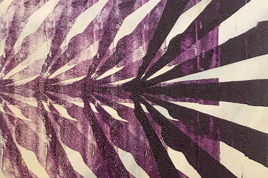 京都造形芸術大学・山本捷平『reiterate−radial purple』