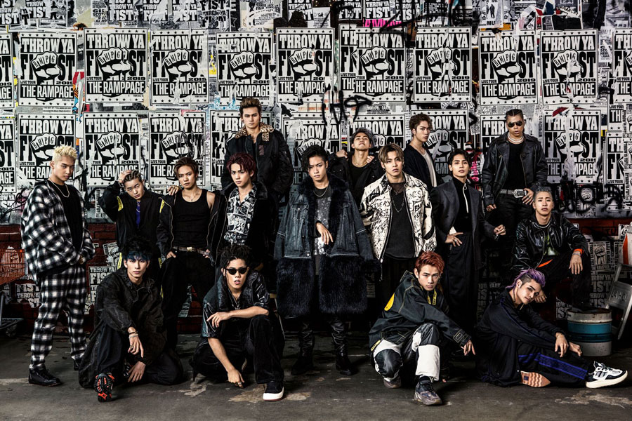 THE RAMPAGE from EXILE TRIBE(18日)