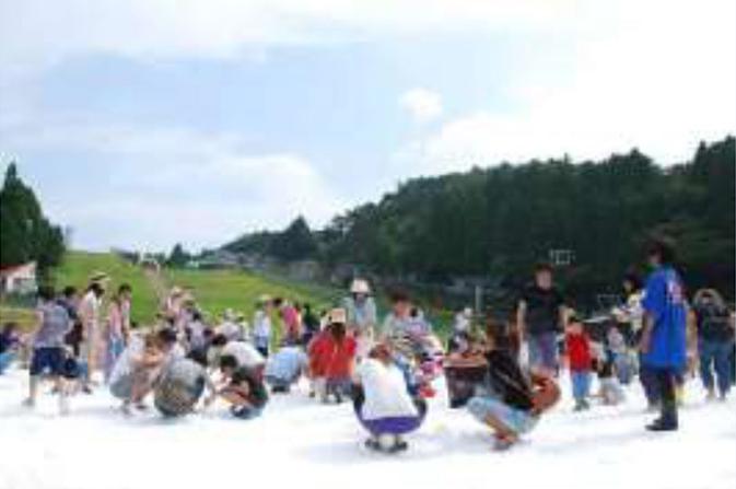 2018年開催時の「雪の広場」の様子