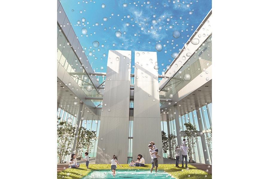 大阪・阿倍野エリアに登場する「HARUKAS WATER RESORT〜ハルカス ウォーター リゾート〜」