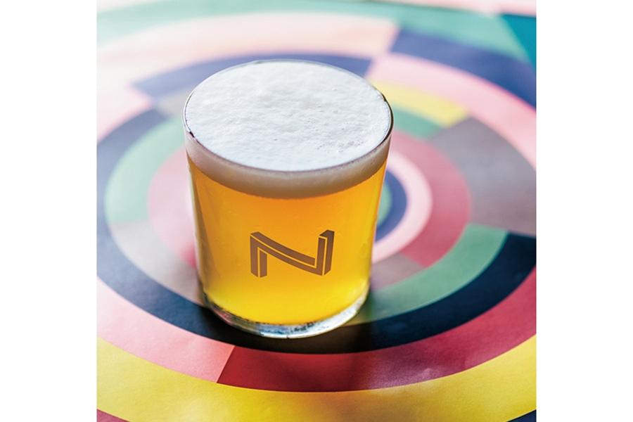 ビアカクテルではなく、ビールの中にスイカの香りを感じる「ウォーターメロンヘッド」(奈良醸造)