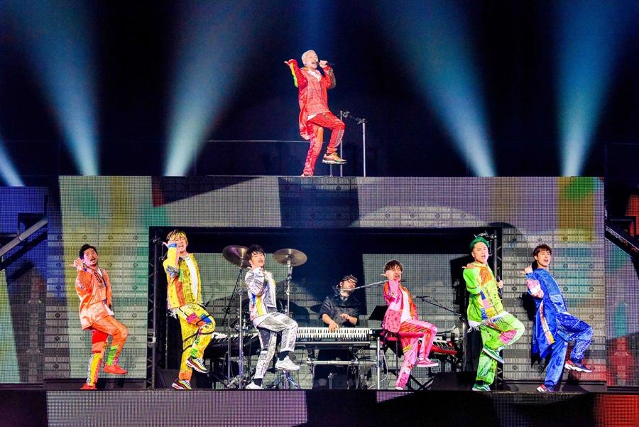 『U.S.A』で幕をあけたDA PUMPの大阪公演(7日・大阪城ホール)