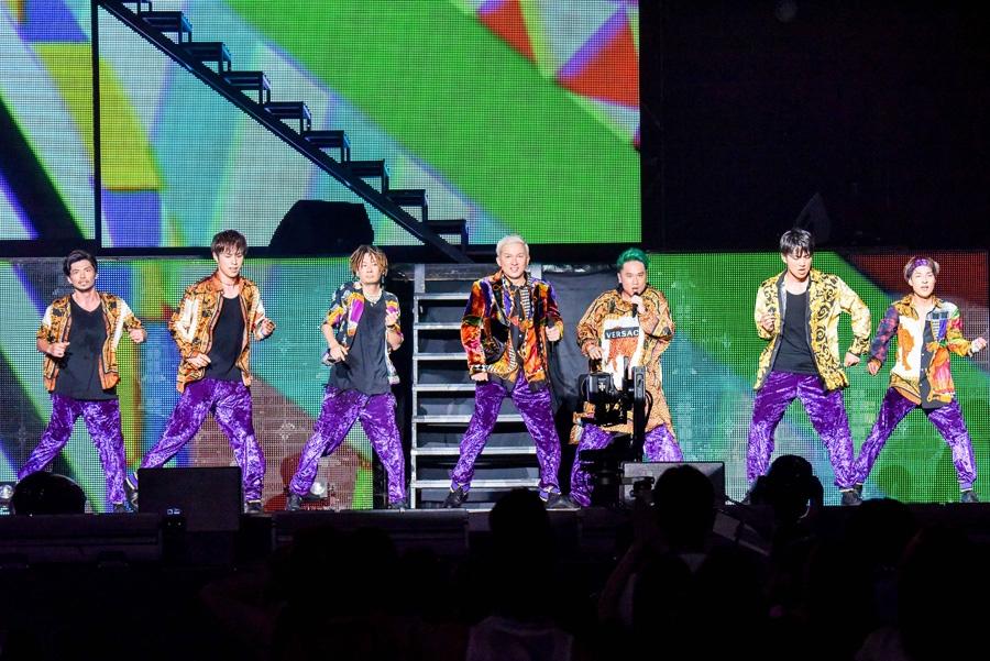 終始あついパフォーマンスが繰り広げられたステージ(7日・大阪城ホール)