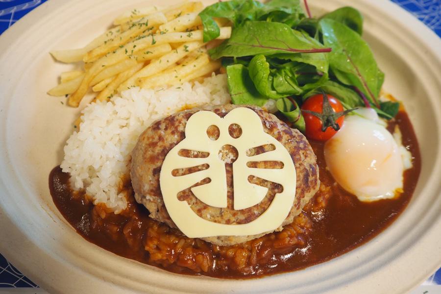 ドラえもんロコモコ丼(1200円)