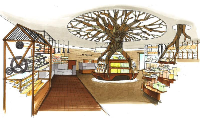 9月12日にリニューアルオープンするメインショップの店内イメージ