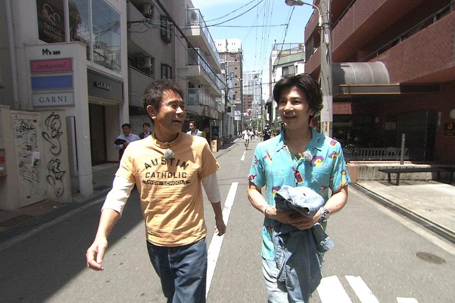 これまで出来なかった初体験に挑戦していく(左から)浜田雅功と武田真治 写真提供:MBS
