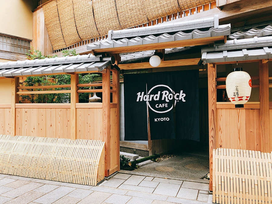 町家を改装した世界唯一の「ハードロックカフェ京都」