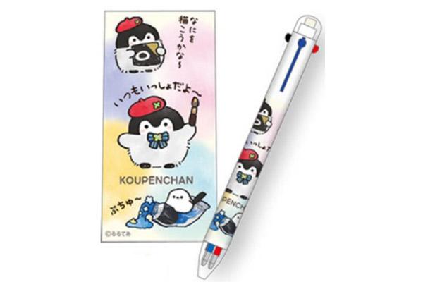 【イベント限定品】シャープペンシル付3色ボールペン 648円