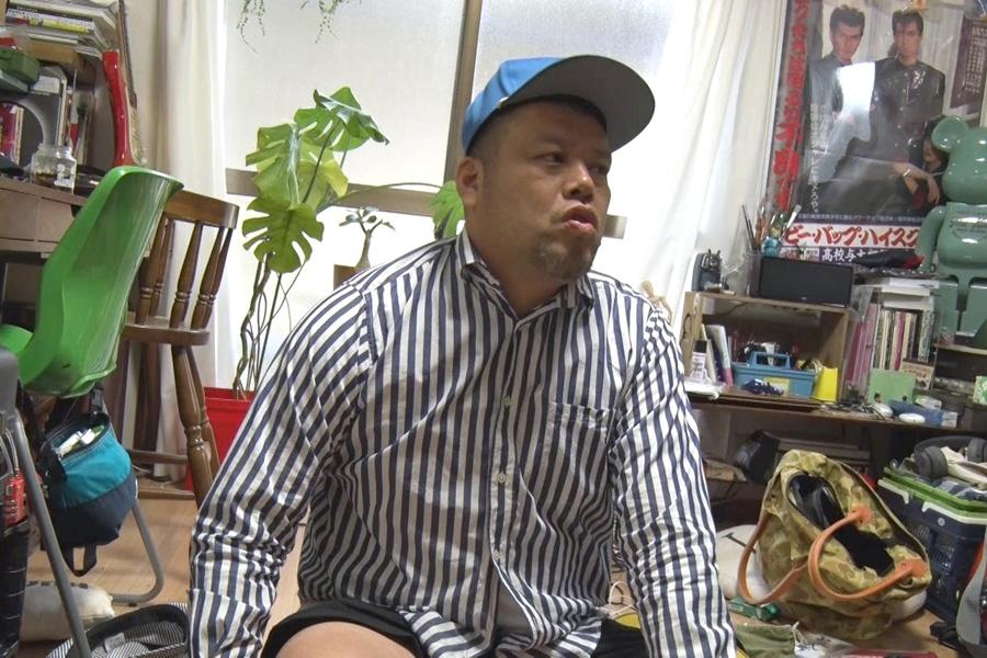 くっきーが創作活動のために借りている部屋(写真提供:MBS)