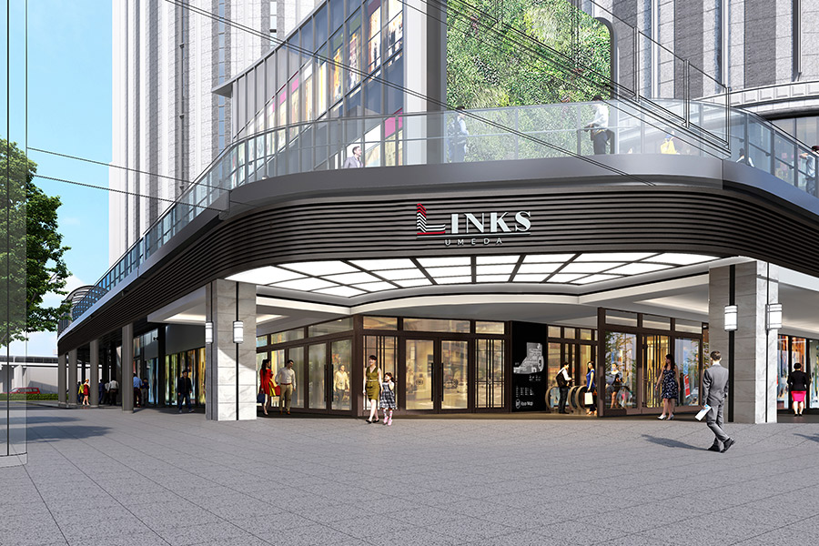 「リンクスウメダ」は2019年秋、ホテルは11月27日に開業予定