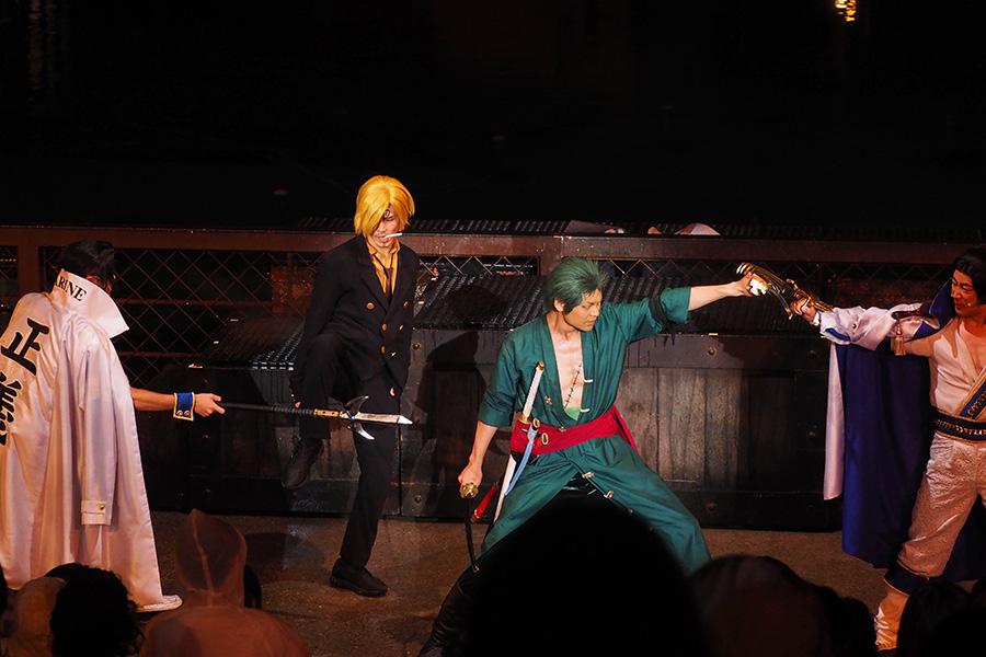 『ワンピース・プレミア・ショー』ゾロとサンジ