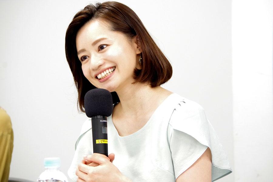 旅番組『おとな旅 あるき旅』の500回記念会見に登場し、近況を報告した斉藤雪乃
