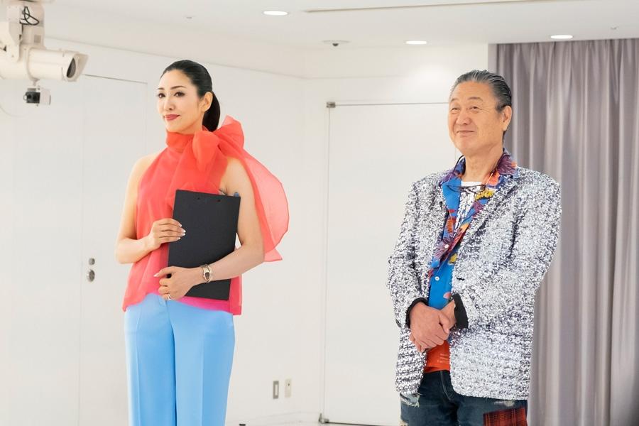 アンミカ(左)と山本寛斎(写真提供:MBS)