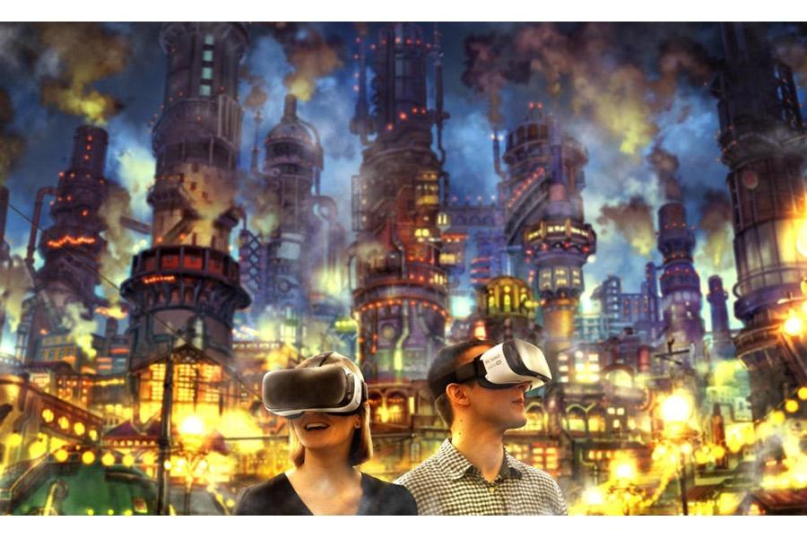 VRで絵本『えんとつ町のプペル』の世界観が体験できる