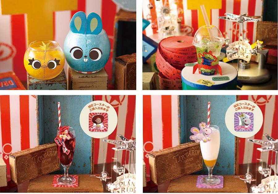 写真左上が「ダッキー&バニー 毒舌コンビのひんやりクラッシュマンゴー」 © POOF-Slinky, LLC