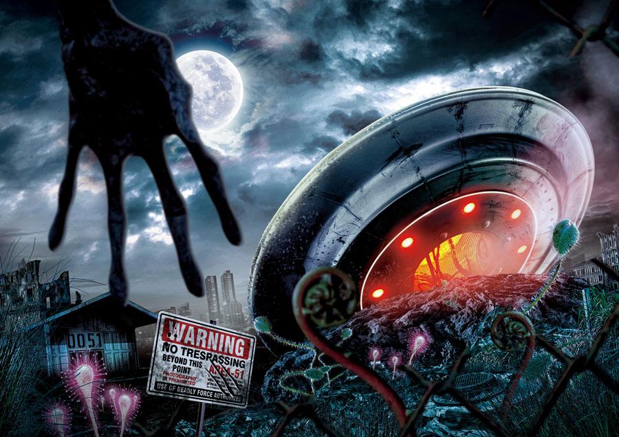 まったく新しい、衝撃のスペース・ホラ ー・メイズ『エリア 51〜未確認物体との遭遇〜』