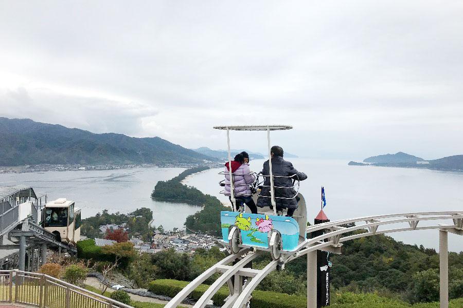 天橋立の絶景を一望できる「天橋立ビューランド」