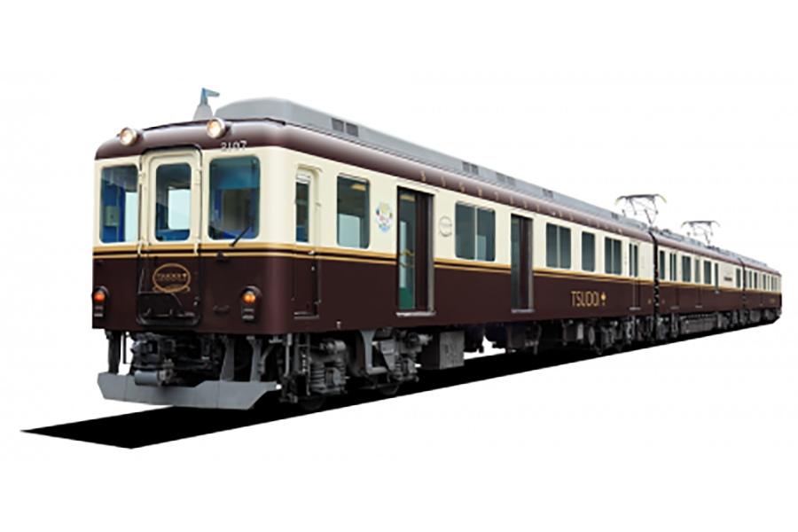 ビール列車に活用される観光列車「つどい」