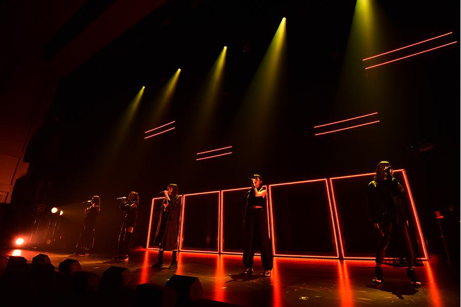 会場で上映される、ライブ映像のイメージ