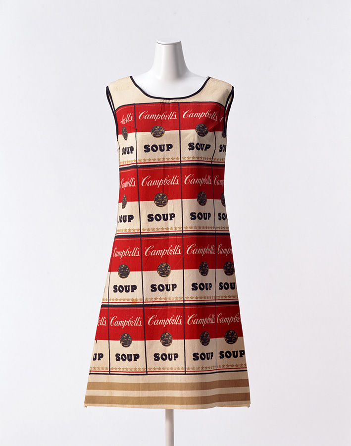 CAMBELL'S SOUP COMPANY「スーパードレス」 1968年 京都服飾文化研究財団所蔵、畠山崇撮影