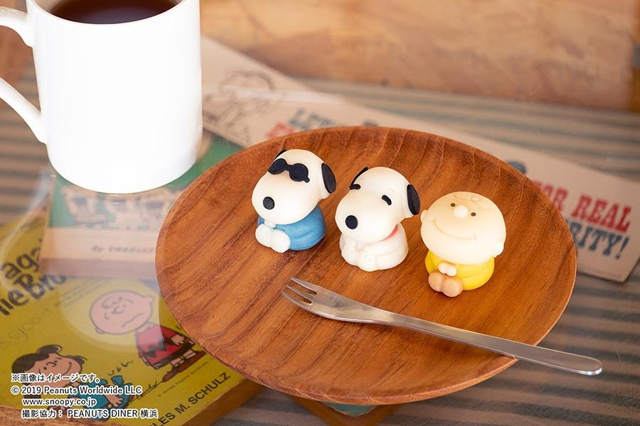 8月20日に発売される「食べマス スヌーピー」シリーズ(全3種)