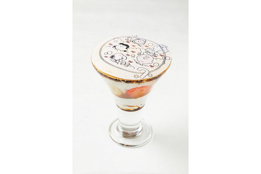 フルーツと豆乳のリラックスブランマンジェ(1100円)