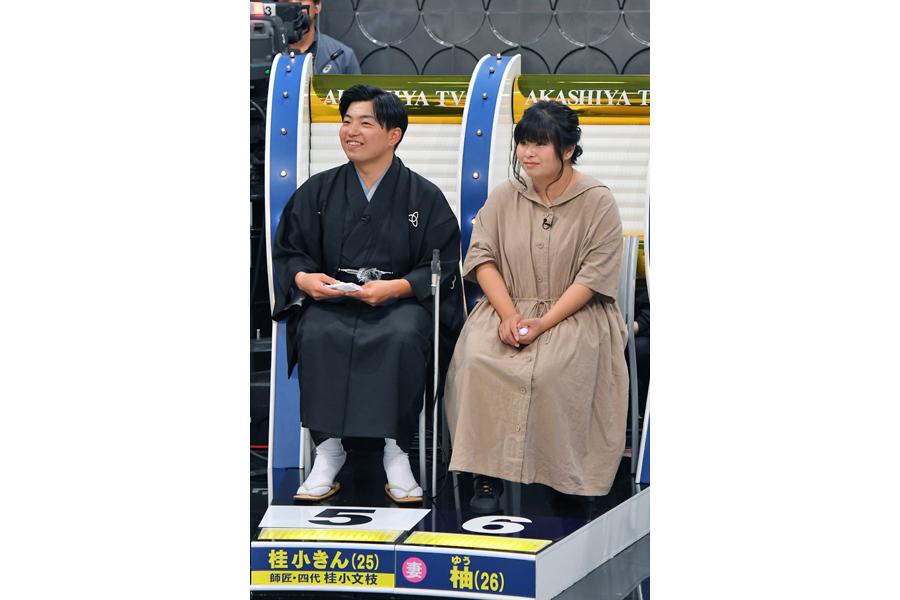 桂小きん・柚夫婦(写真提供:MBS)