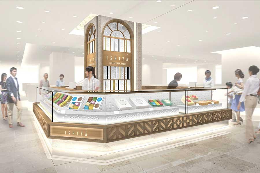 「ISHIYA SHINSAIBASHI」の店舗イメージ図