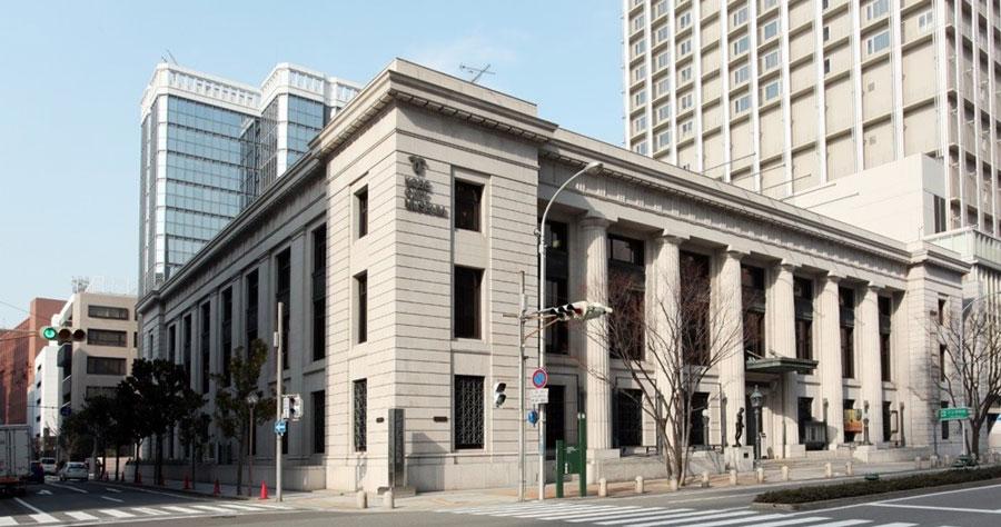 神戸市立博物館は、昭和10年竣工の貴重な近代建築(神戸市提供)