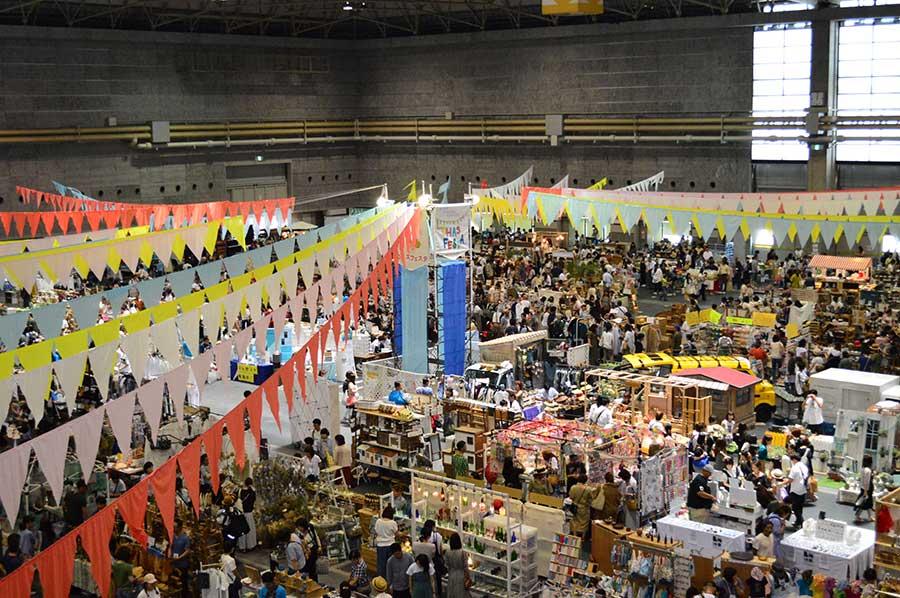 2018年にインテックス大阪でおこなわれた『ロハスフェスタ』の様子