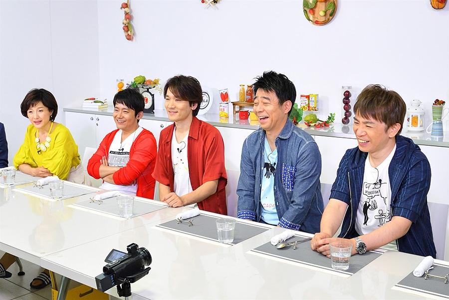 左から水野真紀・ロザン菅・長野博・よゐこ 写真提供:MBS