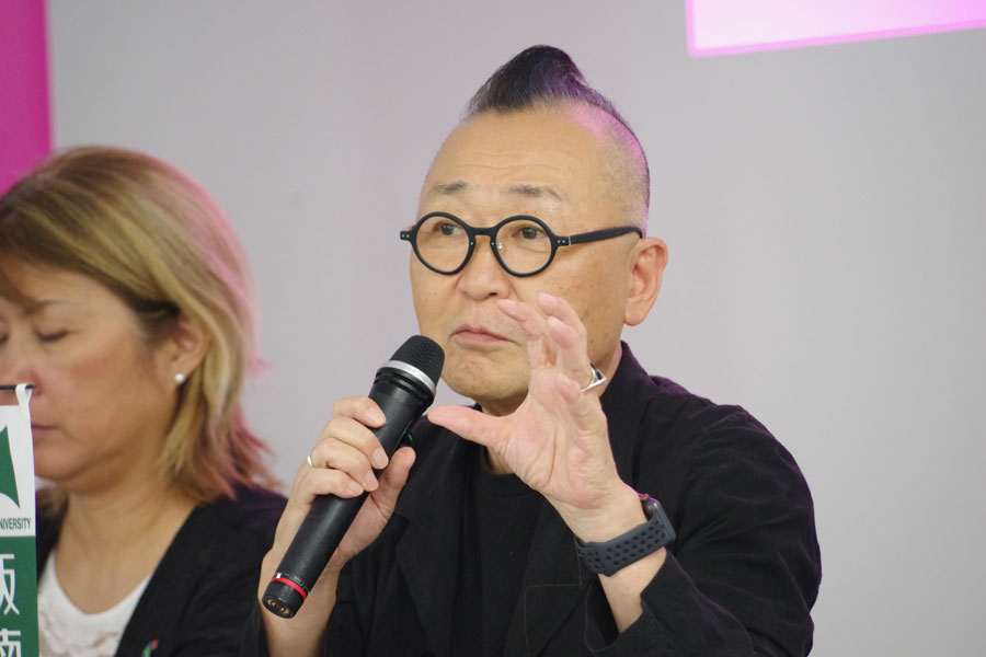 本フェスティバルの実行委員のひとりで、『大道芸ワールドカップin静岡』のプロデューサー・甲賀雅章さん