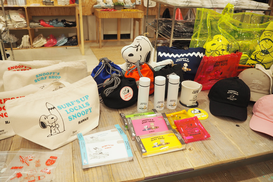 「SNOOPY'S SURF SHOP」のグッズ