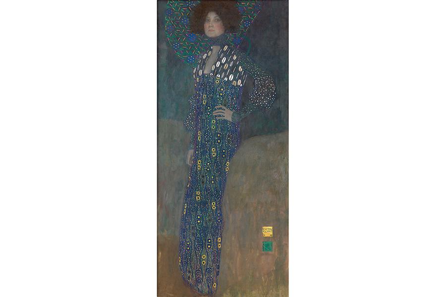 グスタフ・クリムト《エミーリエ・フレーゲの肖像》©Wien Museum / Foto Peter Kainz