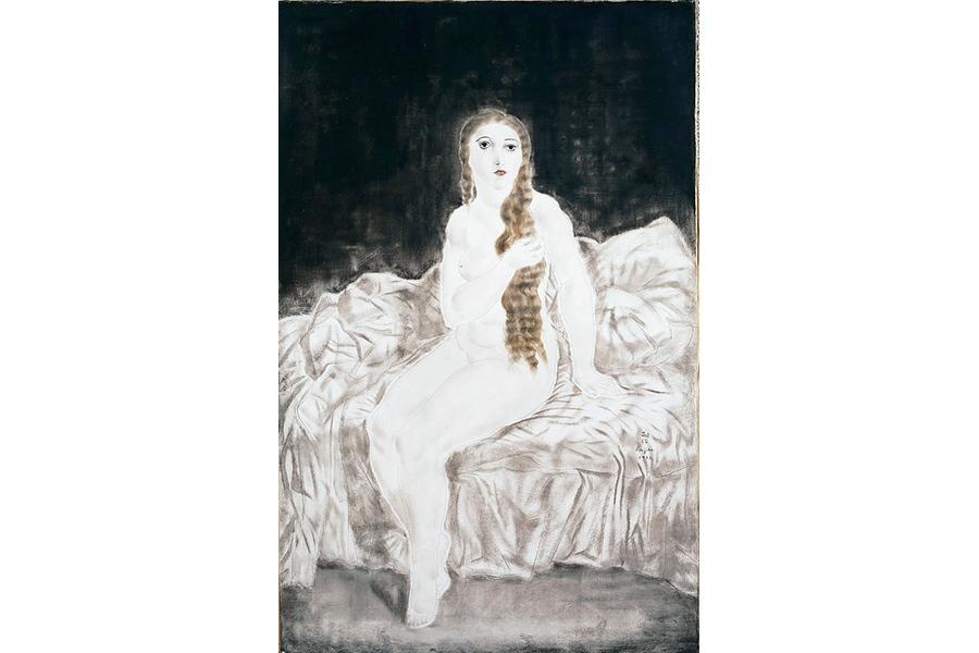 「長い髪のユキ」(1923年)