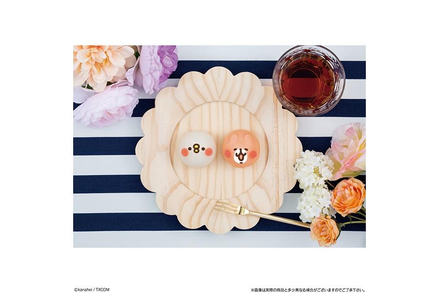 「食べマスモッチ カナヘイの小動物 ピスケ&うさぎ」(280円)