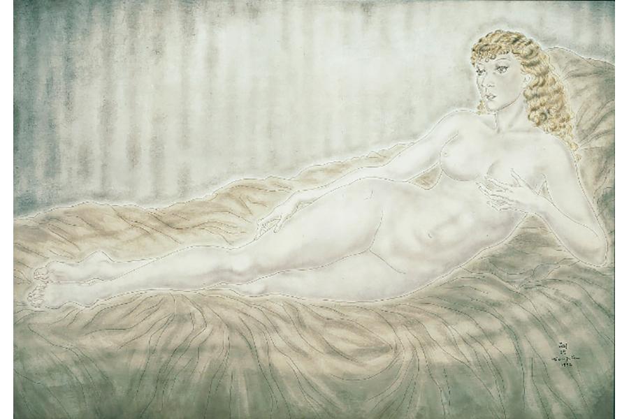 『横たわる裸婦(マドレーヌ)』(1932年)