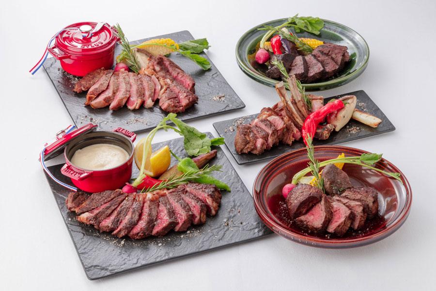 ニューヨークスタイルでいただく5種類のステーキ