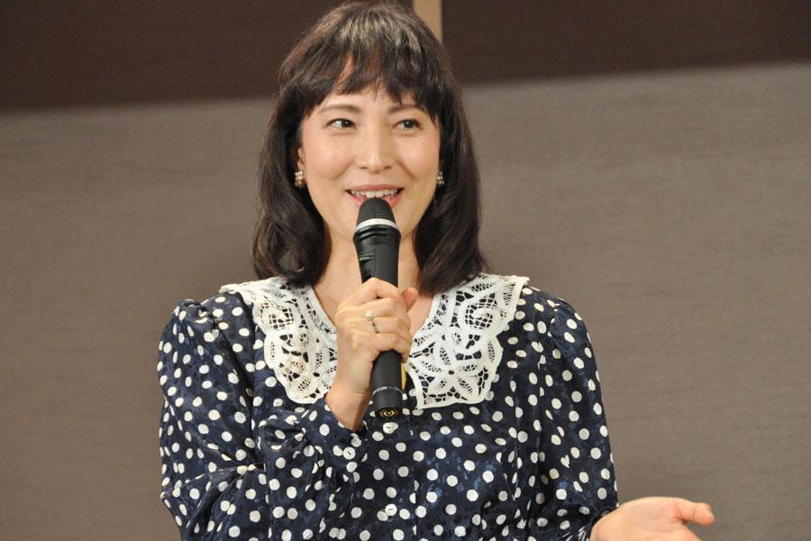舞台『道頓堀ものがたり』に出演する女優・鈴木杏樹(9月3日・京都市内)