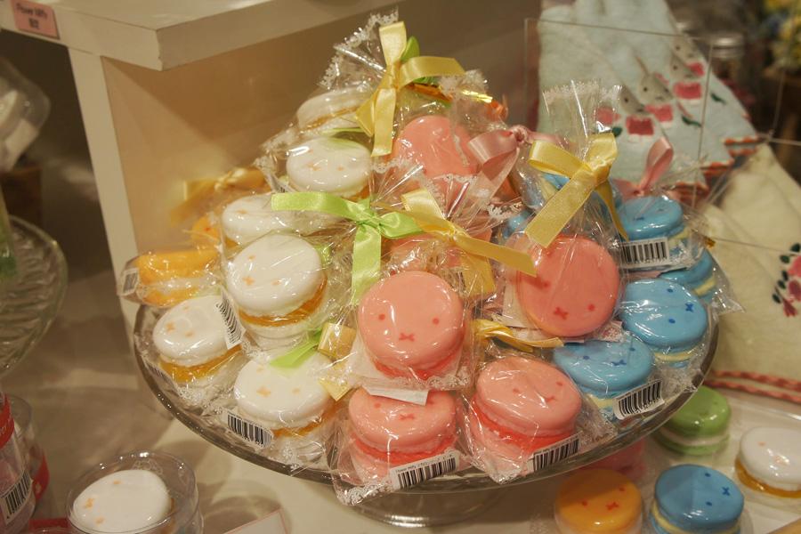 マカロンソープ(600円)大阪出店を記念して作られた新商品