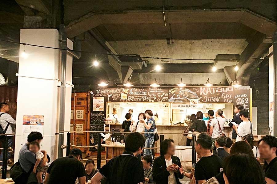 会場の「OSAKA FOOD LAB」は、大阪メトロ御堂筋線・阪急の中津駅近く