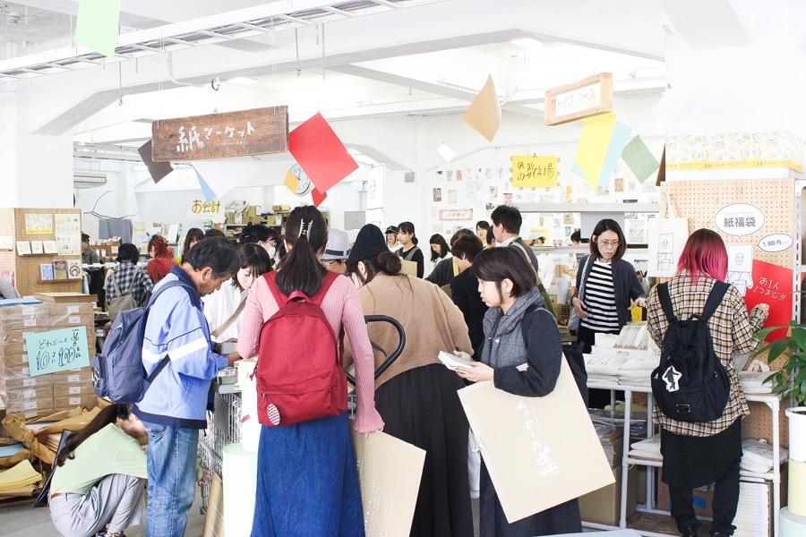 『紙マーケット』過去開催の様子