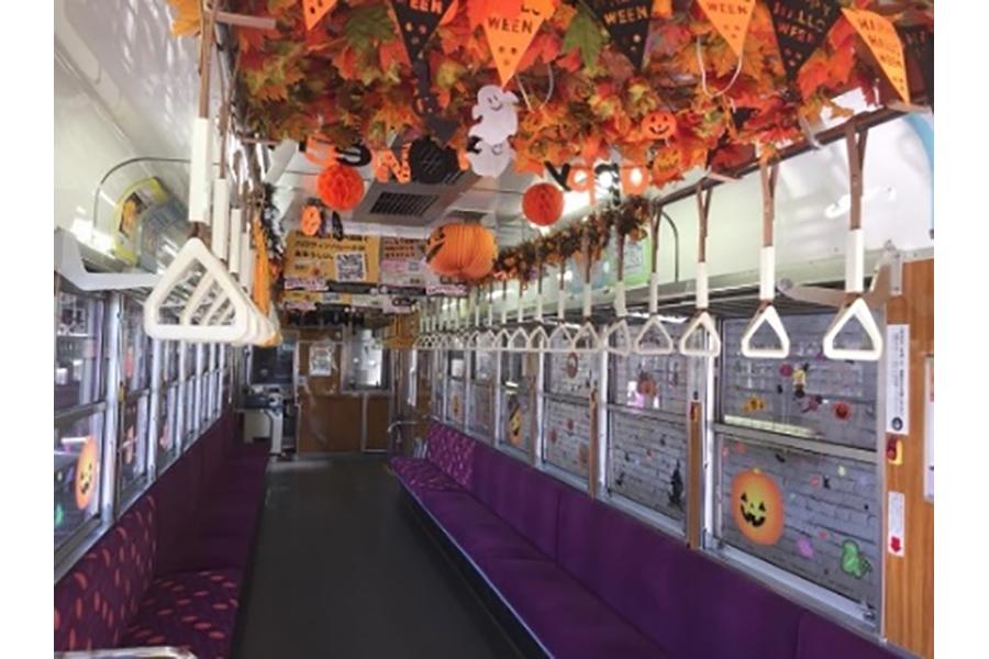 昨年からスタートした「ハロウィン列車」のイメージ