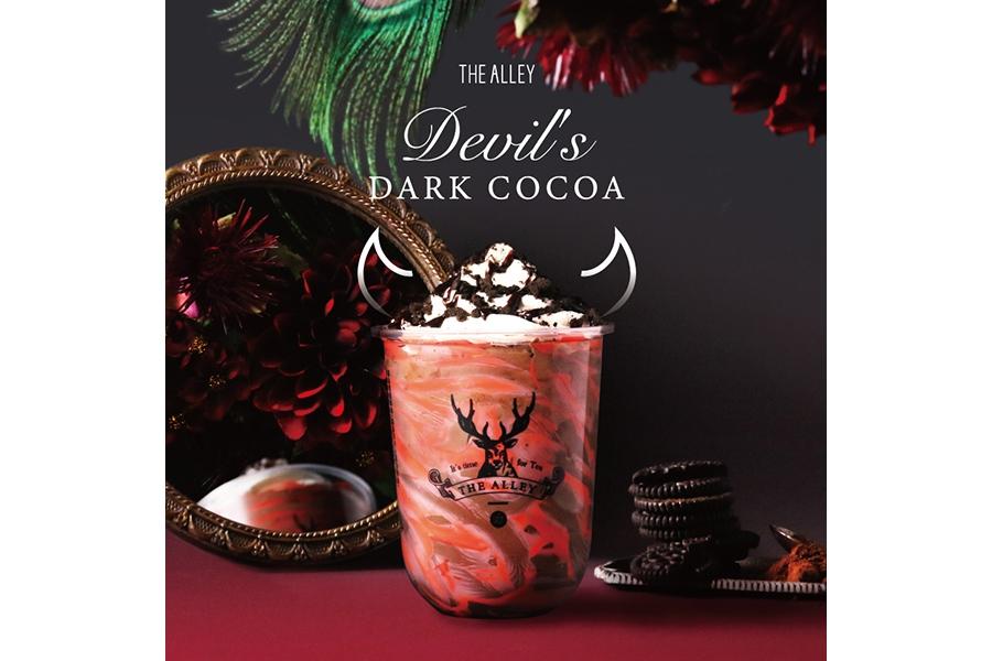 10月18日から発売される「悪魔のダークココア」(600円・税別、Mサイズ)