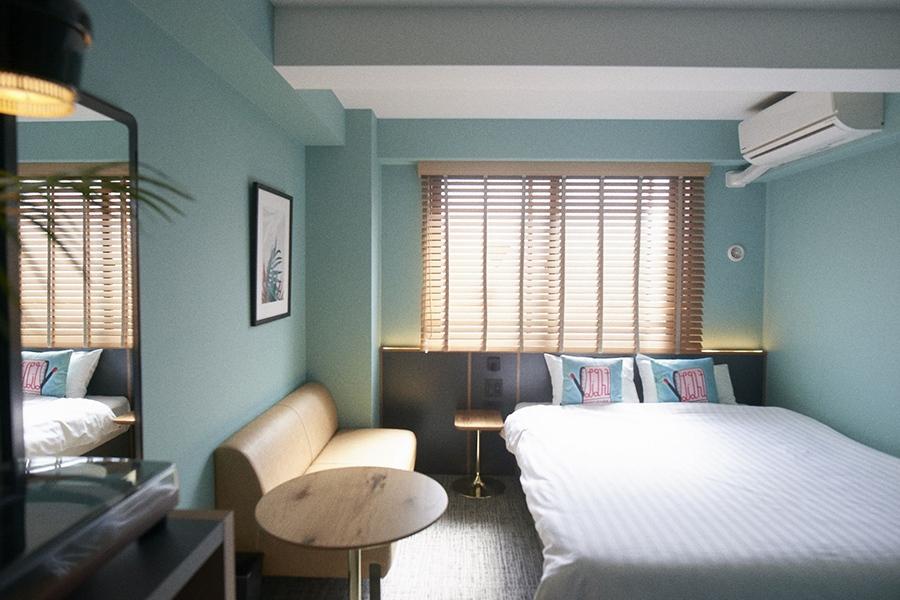 「HOTEL SHE,KYOTO」通常時の客室イメージ